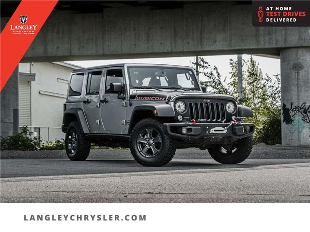 2017 Jeep Wrangler Unlimited Rubicon (Stk: M629446A) in Surrey - Image 1 of 30
