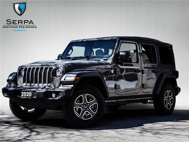 2020 Jeep Wrangler Unlimited Sport (Stk: P9337) in Toronto - Image 1 of 27