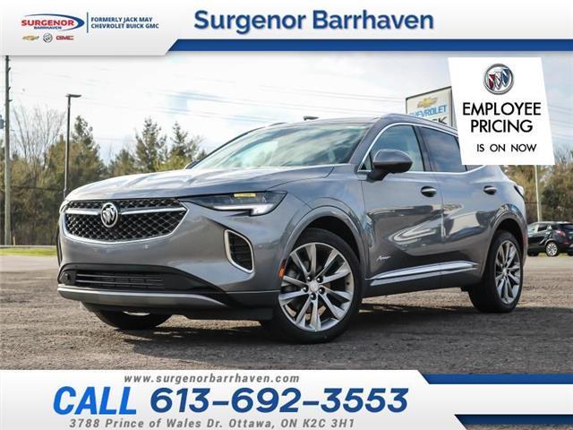 2021 Buick Envision Avenir (Stk: 210488) in Ottawa - Image 1 of 23