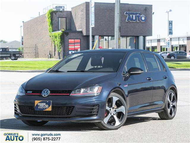 2017 Volkswagen Golf GTI 5-Door Autobahn (Stk: 055439) in Milton - Image 1 of 22