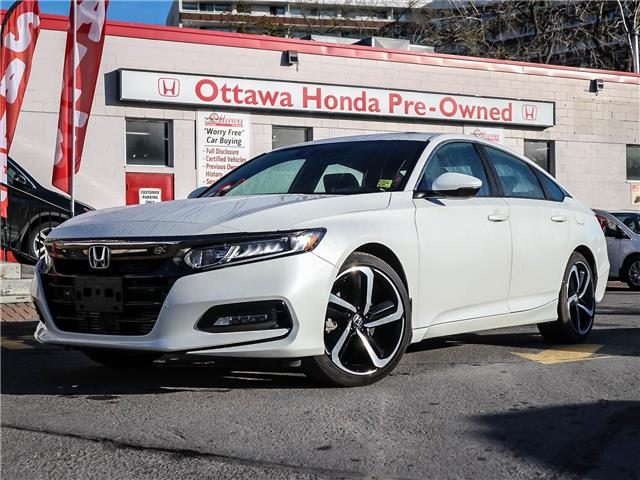 2019 Honda Accord Sport 1.5T (Stk: H90150) in Ottawa - Image 1 of 29