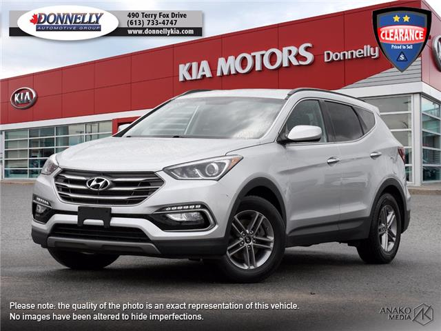 2017 Hyundai Santa Fe Sport 2.4 Base (Stk: KU2530) in Ottawa - Image 1 of 27