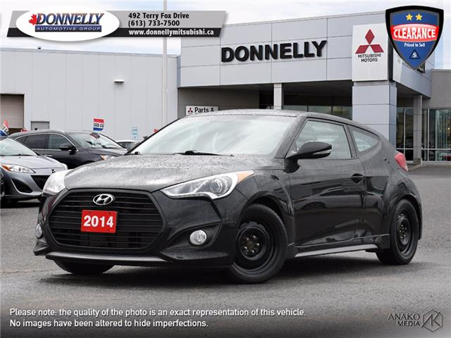 2014 Hyundai Veloster Turbo (Stk: MU1067B) in Kanata - Image 1 of 26