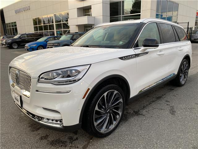 2020 Lincoln Aviator Reserve 5LM5J7XC1LGL12313 OP21164 in Vancouver