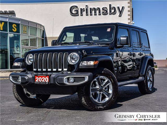 2020 Jeep Wrangler Unlimited Sahara (Stk: U5139) in Grimsby - Image 1 of 26
