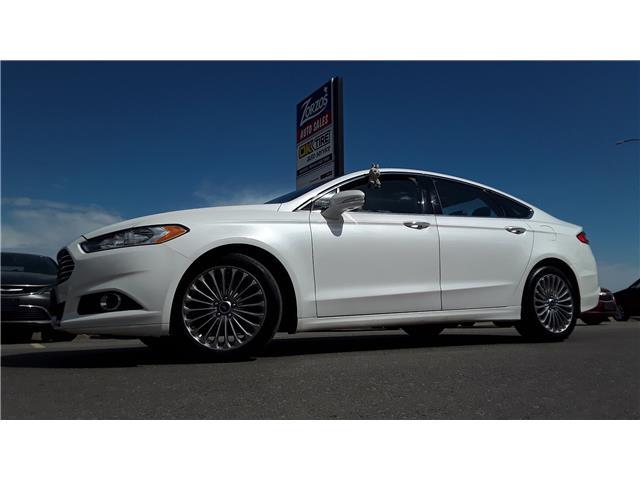 2013 Ford Fusion Titanium (Stk: P812) in Brandon - Image 1 of 28