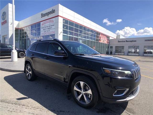 2021 Jeep Cherokee Limited (Stk: 210591A) in Calgary - Image 1 of 25