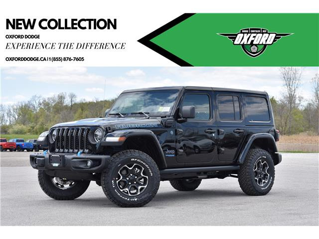 2021 Jeep Wrangler Unlimited 4xe Rubicon (Stk: 21481) in London - Image 1 of 30