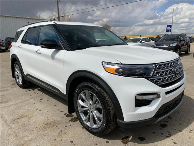 2021 Ford Explorer Limited (Stk: 21141) in Wilkie - Image 1 of 26