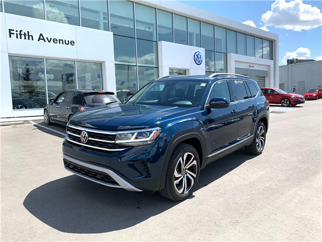 2021 Volkswagen Atlas 3.6 FSI Execline (Stk: 21212) in Calgary - Image 1 of 17