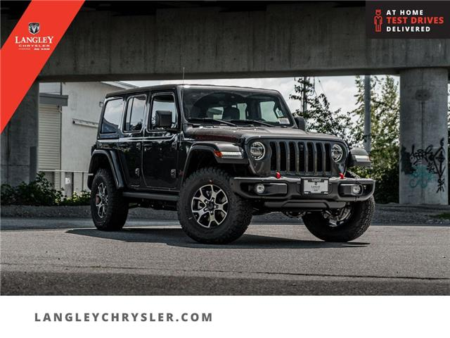 2021 Jeep Wrangler Unlimited Rubicon (Stk: M652756) in Surrey - Image 1 of 25