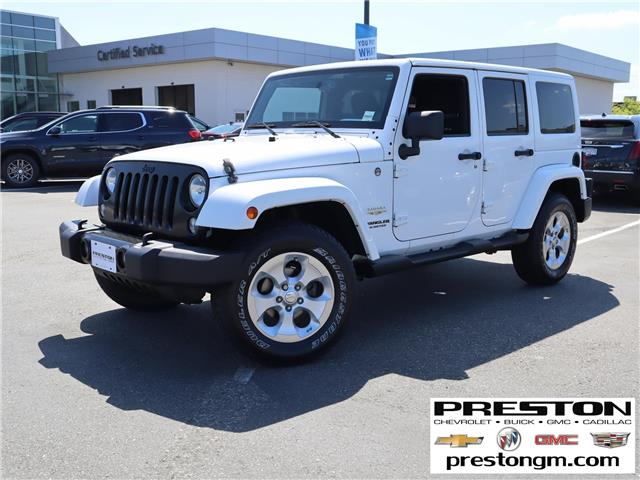 2014 Jeep Wrangler Unlimited Sahara (Stk: 1204712) in Langley City - Image 1 of 27