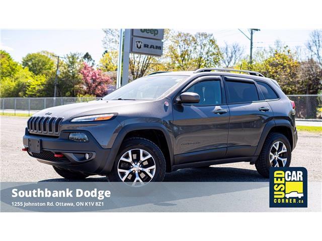 2016 Jeep Cherokee Trailhawk (Stk: 2006681) in OTTAWA - Image 1 of 25
