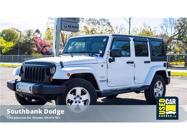 2011 Jeep Wrangler Unlimited Sahara (Stk: 9230991) in OTTAWA - Image 1 of 23