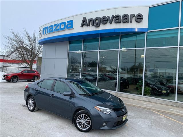 2015 Toyota Corolla LE (Stk: M8571A) in Peterborough - Image 1 of 12