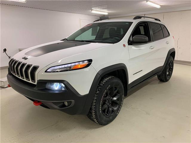 2018 Jeep Cherokee Trailhawk 1C4PJMBXXJD594992 u0407 in Mont-Joli