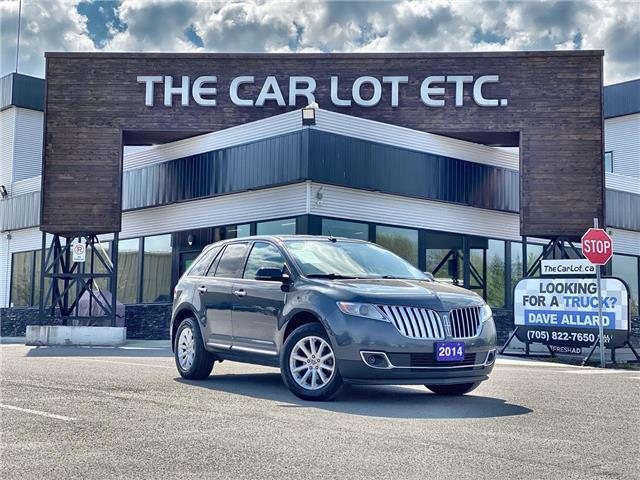2014 Lincoln MKX Base (Stk: 21213) in Sudbury - Image 1 of 24