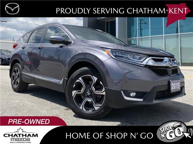 2019 Honda CR-V Touring (Stk: UM2618) in Chatham - Image 1 of 27