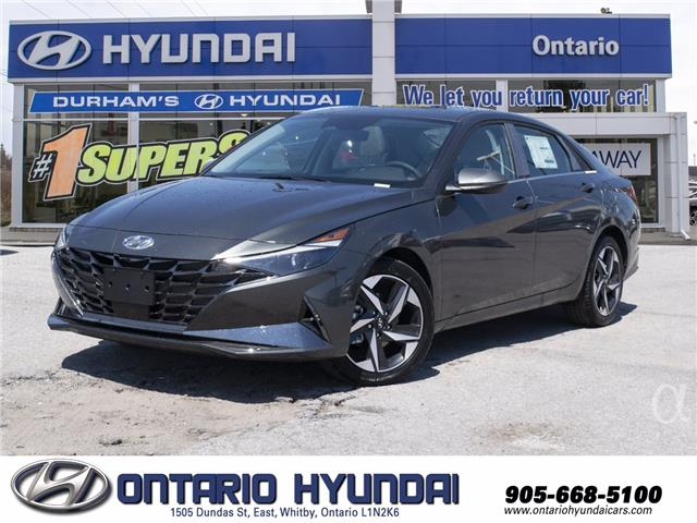 2021 Hyundai Elantra Ultimate w/Two-Tone Interior (Stk: 61793X) in Whitby - Image 1 of 21