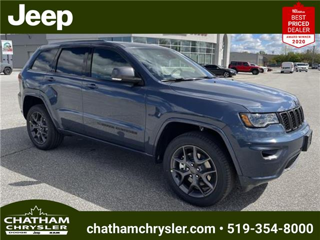 2021 Jeep Grand Cherokee Limited (Stk: N05052) in Chatham - Image 1 of 18