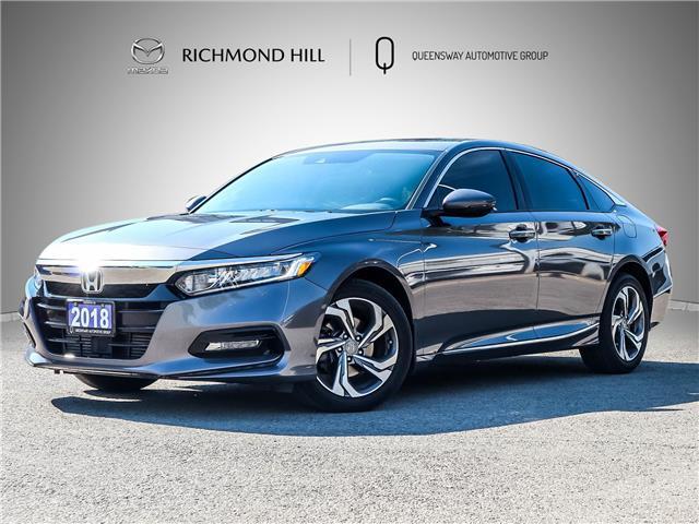 2018 Honda Accord EX-L (Stk: 21-352A) in Richmond Hill - Image 1 of 25
