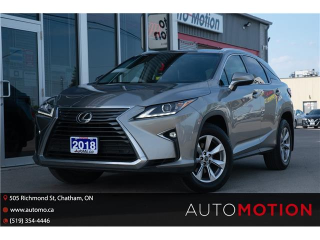 2018 Lexus RX 350 Base (Stk: 21857) in Chatham - Image 1 of 27
