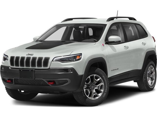 2021 Jeep Cherokee Trailhawk (Stk: ) in Sudbury - Image 1 of 2