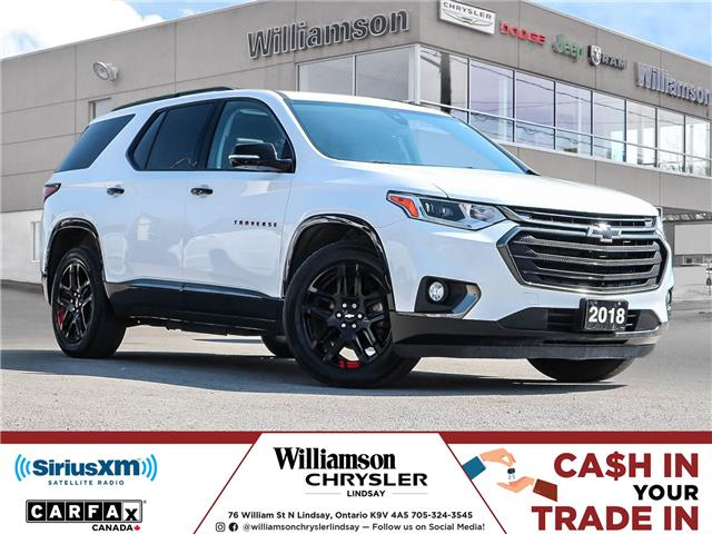 2018 Chevrolet Traverse Premier (Stk: U1261) in Lindsay - Image 1 of 28
