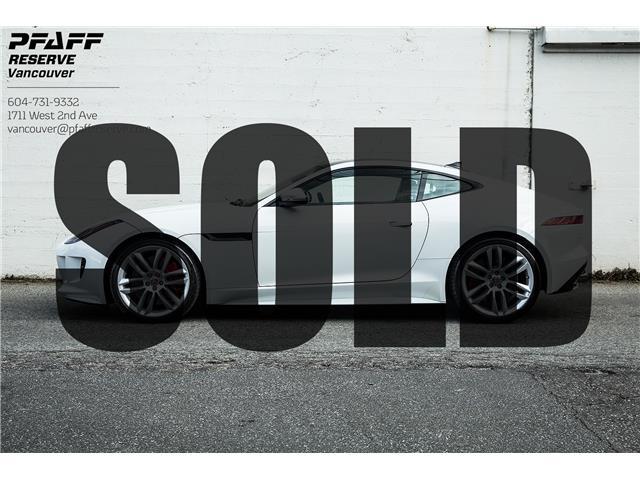 2017 Jaguar F-TYPE R (Stk: AT0030) in Vancouver - Image 1 of 18