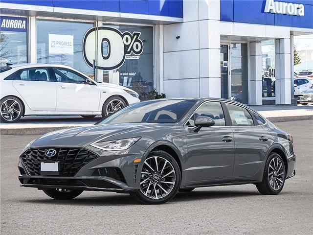 2020 Hyundai Sonata Luxury (Stk: 22024) in Aurora - Image 1 of 23