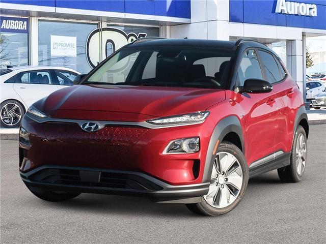 2021 Hyundai Kona EV  (Stk: 22408) in Aurora - Image 1 of 23
