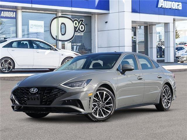 2021 Hyundai Sonata Ultimate (Stk: 22532) in Aurora - Image 1 of 6