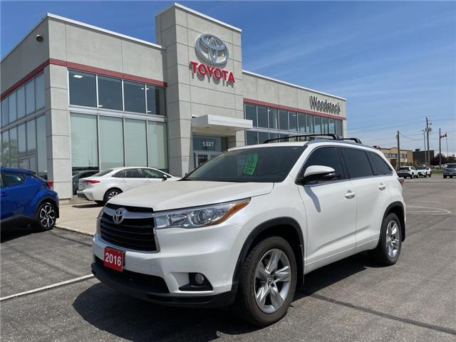2016 Toyota Highlander Limited (Stk: 000856A) in Woodstock - Image 1 of 26