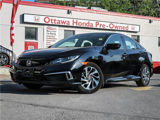 2019 Honda Civic EX (Stk: H90330) in Ottawa - Image 1 of 27