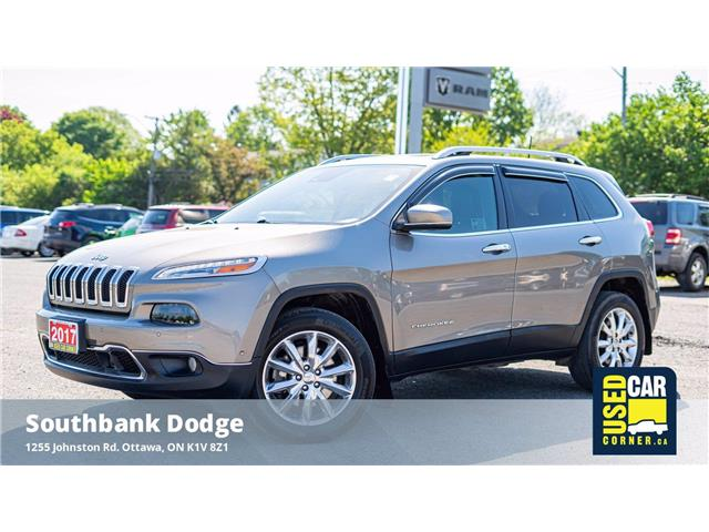 2017 Jeep Cherokee Limited (Stk: 9230581) in OTTAWA - Image 1 of 24