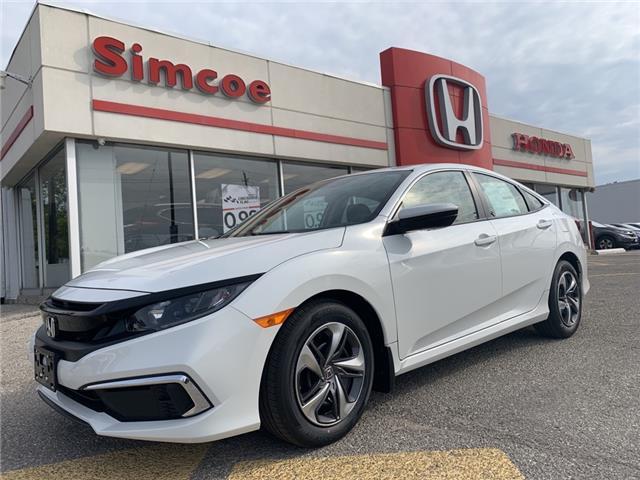2021 Honda Civic LX (Stk: 21084) in Simcoe - Image 1 of 21