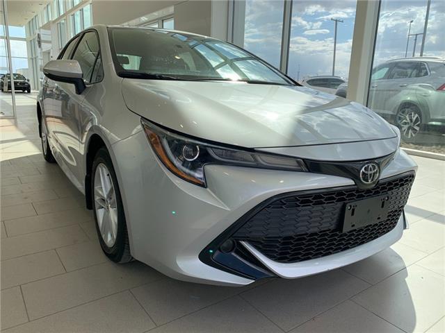 2019 Toyota Corolla Hatchback Base JTNK4RBE0K3056365 V7743 in Saskatoon