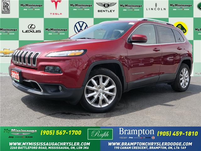 2017 Jeep Cherokee Limited (Stk: 1394A) in Mississauga - Image 1 of 25
