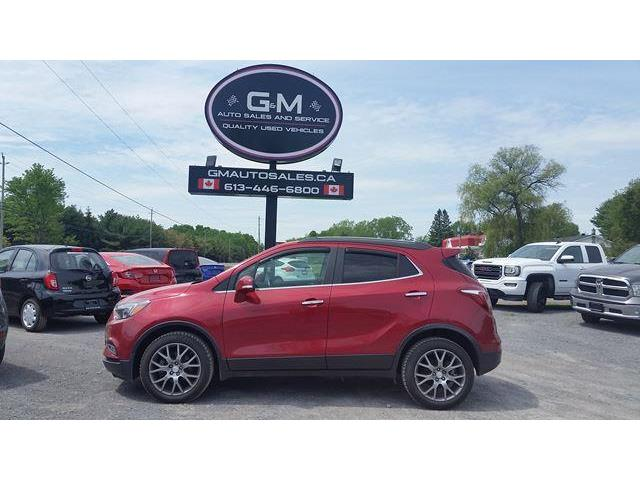 2018 Buick Encore Sport Touring (Stk: jb562832) in Rockland - Image 1 of 12