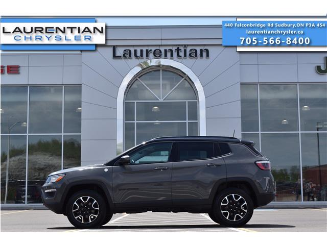 2020 Jeep Compass Trailhawk (Stk: 21193A) in Greater Sudbury - Image 1 of 32