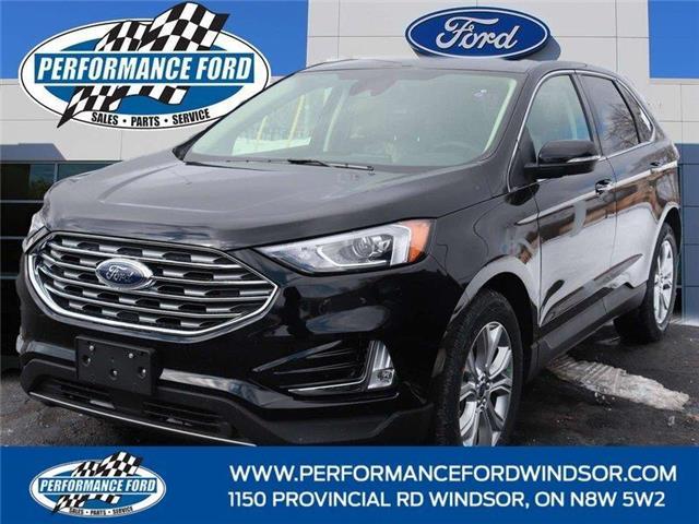 2021 Ford Edge Titanium (Stk: EG05457) in Windsor - Image 1 of 15