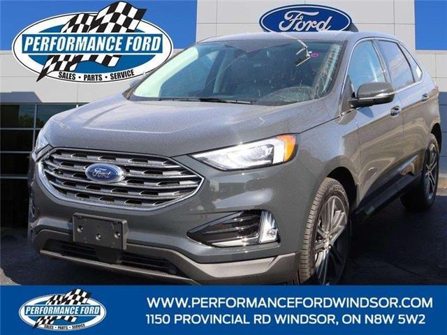 2021 Ford Edge Titanium (Stk: EG07434) in Windsor - Image 1 of 14