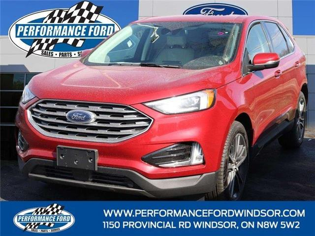2021 Ford Edge Titanium (Stk: EG07530) in Windsor - Image 1 of 14