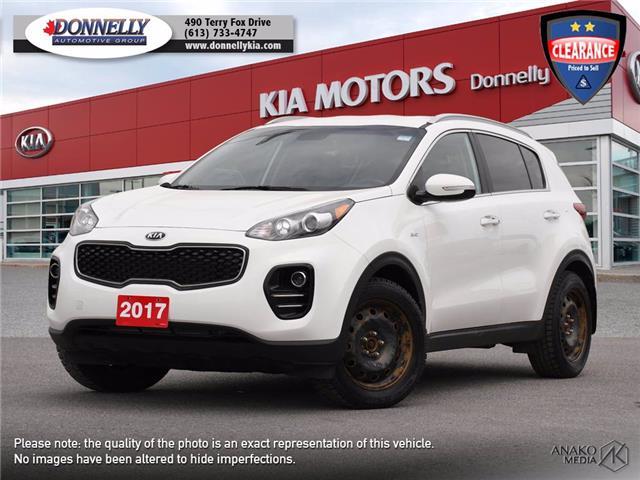2017 Kia Sportage EX (Stk: KU2526) in Ottawa - Image 1 of 24