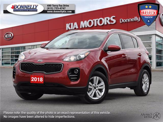2018 Kia Sportage LX (Stk: KV390DTA) in Ottawa - Image 1 of 28