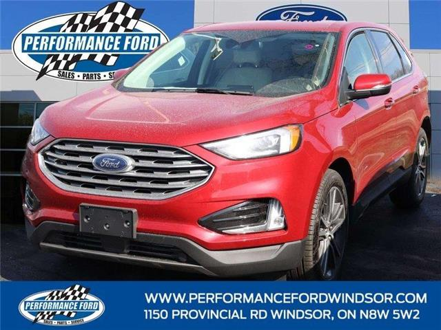 2021 Ford Edge Titanium (Stk: EG06535) in Windsor - Image 1 of 14