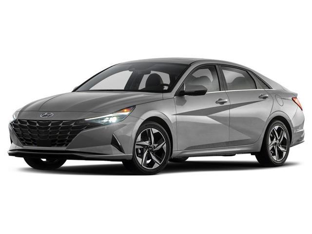 2021 Hyundai Elantra Hybrid Ultimate w/Two-Tone Interior DCT (Stk: 37205) in Brampton - Image 1 of 2