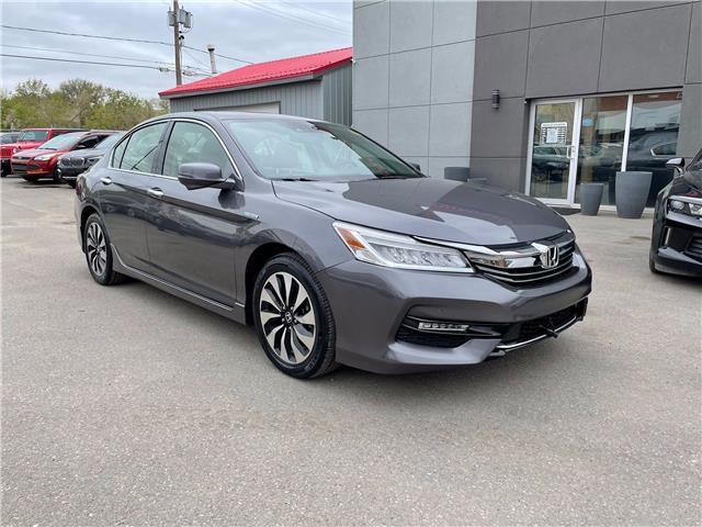 2017 Honda Accord Hybrid Touring (Stk: 14949) in Regina - Image 1 of 30