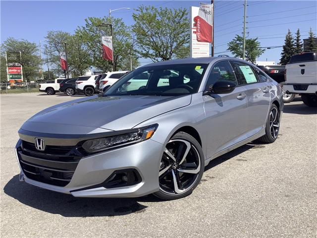 2021 Honda Accord SE 1.5T (Stk: 11-21657) in Barrie - Image 1 of 24