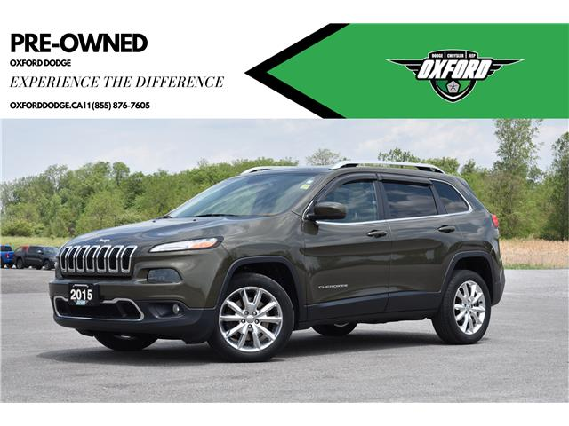 2015 Jeep Cherokee Limited (Stk: U9646A) in London - Image 1 of 20